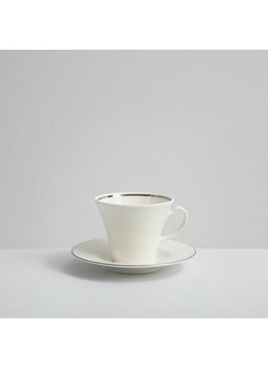 Chakra Perla Platınum 6 Kısılık Çay Takımı Beyaz